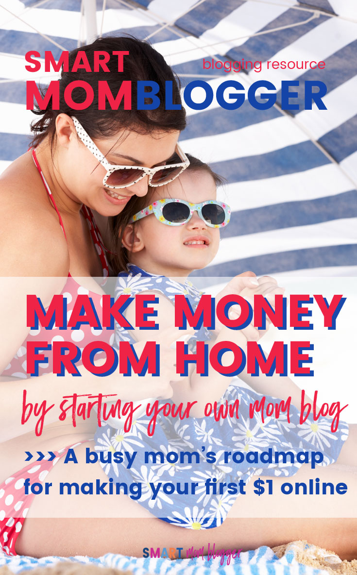 This article has a ton of great info on how to start a blog and make money from home! Shows the 5 ways bloggers ACTUALLY make money and how to get started.