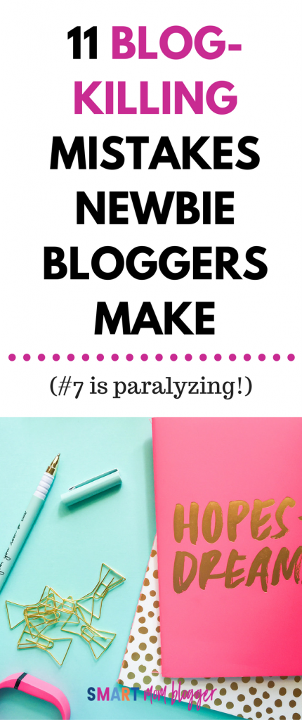 I was guilty of so many of these newbie blogger mistakes! It's so helpful to have them identified so you can avoid wasting your time or looking silly :P