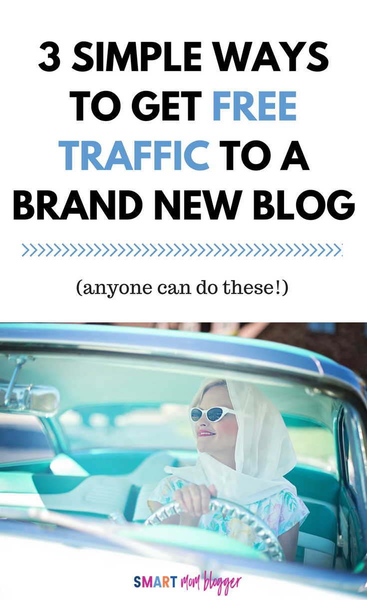 This looks totally doable! She breaks down exactly how to get free blog traffic without wasting all your time or paying for it.