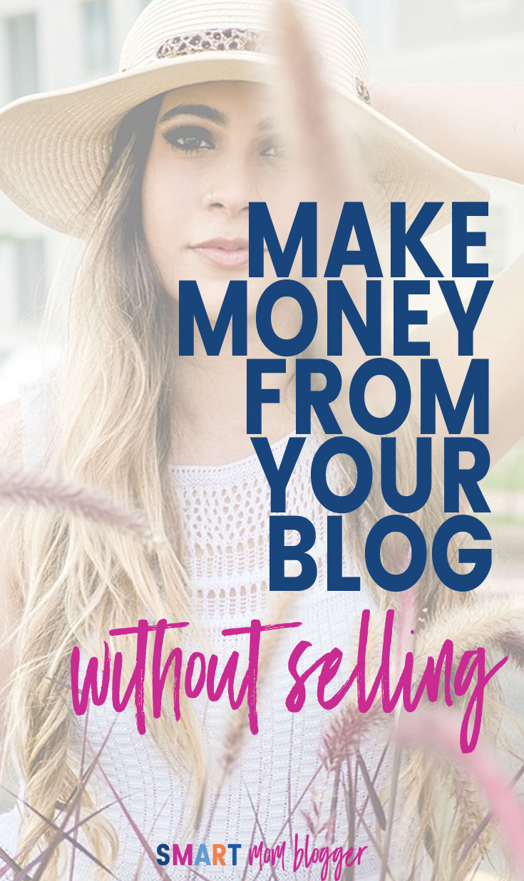 Ever wonder how bloggers make money without having ads on their site? https://smartmomblogger.com/affiliate-marketing This post explains how to make money the fastest and easiest way, without having to actually sell anything and without using ads!