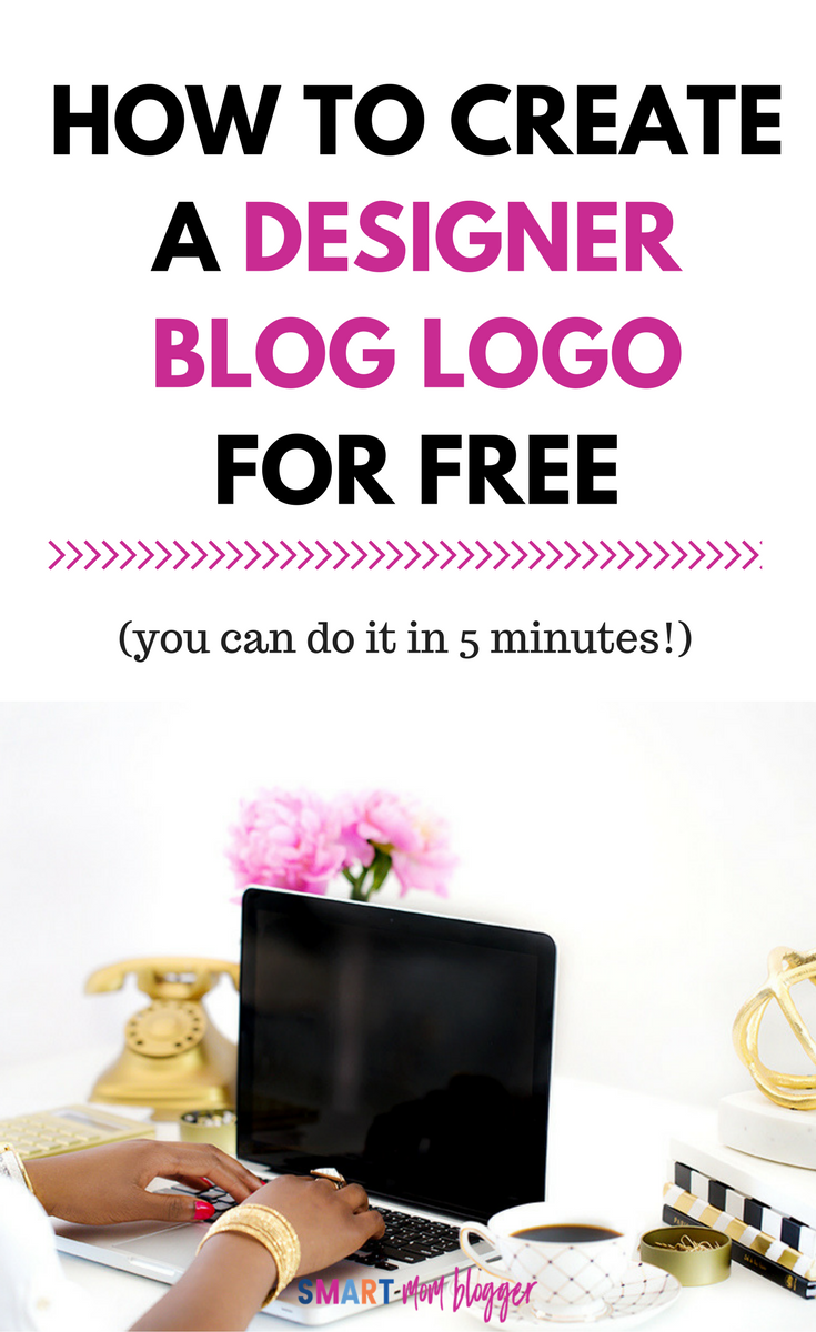 Such a neat trick. She shows how to create a free logo for your blog that looks like a professional designer made it. Tons of logo designs and styles to choose from and takes literally 5 minutes :)