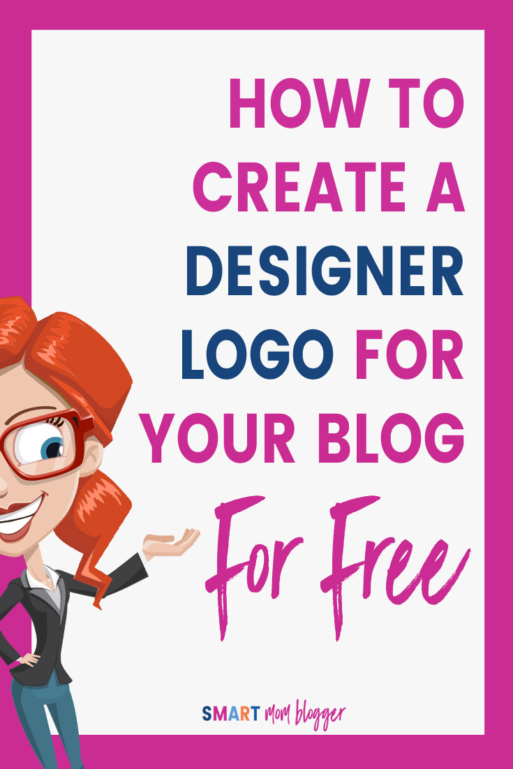 How to create a free designer logo for your blog smart for Create blog logo