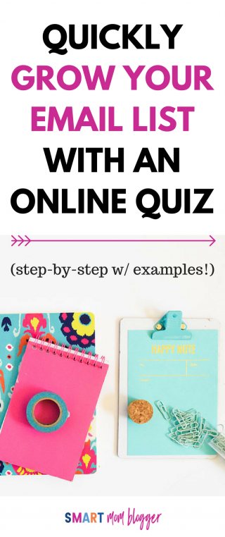 How To Make an Online Quiz To Grow Your Email List