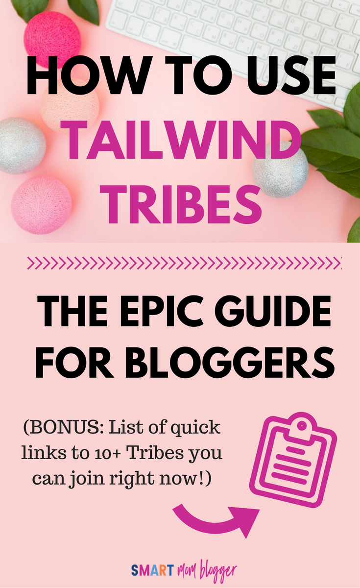 She shows how to use Tailwind Tribes to get traffic to your blog. Step-by-step instructions and screenshots... need to do this asap on my blog! Pin for later.