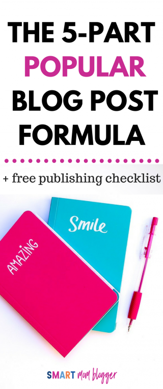 The Popular Blog Post Formula: How to Write a Blog Post That Gets Shared