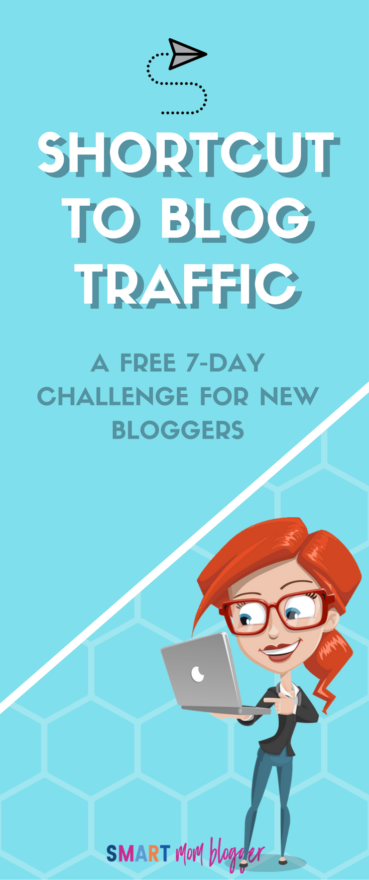 Figuring out how to get traffic to a new blog is so freaking hard! Love this challenge where she shows you a SYSTEM you can use to get tons of free traffic to your blog on autopilot.