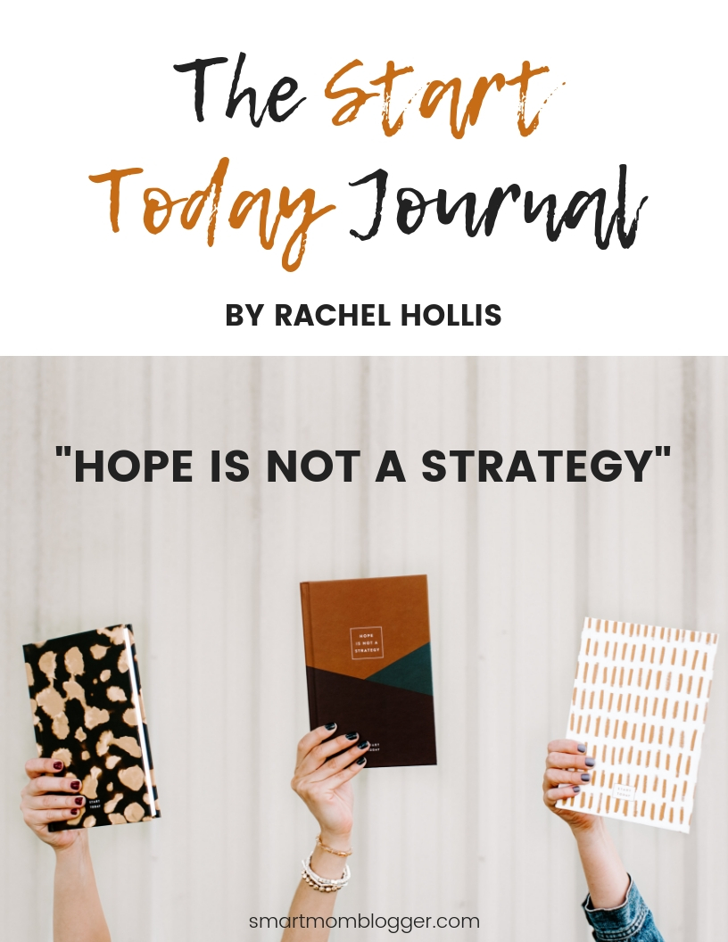 The Start Today Journal by Rachel Hollis is the best tool to help you achieve your goals. For ninety days you will write down five things you're grateful for, ten dreams you're going to make happen, and the one goal you're going to achieve first. With this daily practice you will be able to find success both personally and professionally.