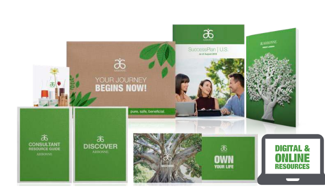 arbonne welcome kit $49