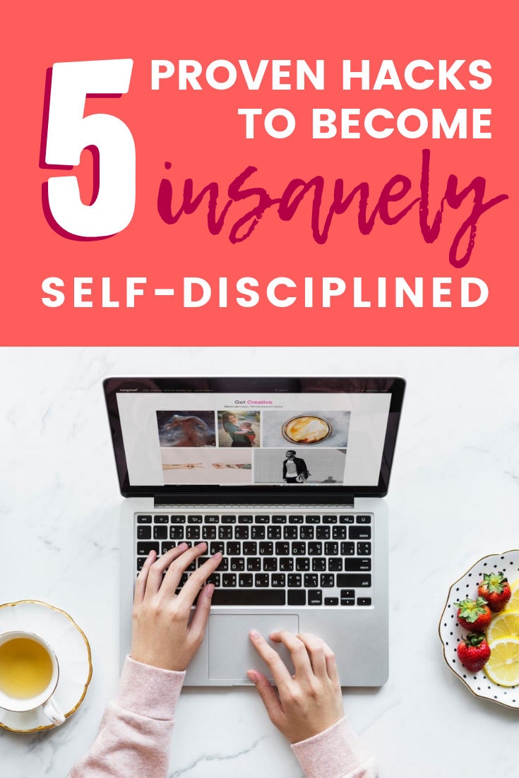 "Want to know how to become insanely self-disciplined? Your lack of discipline and ability to get things done is part of your creative ""think big"" personality, but there are tricks to becoming extremely self-disciplined! Check out this science-backed article about how to become insanely disciplined so you can FINALLY finish what you start and reach your BIG goals!"