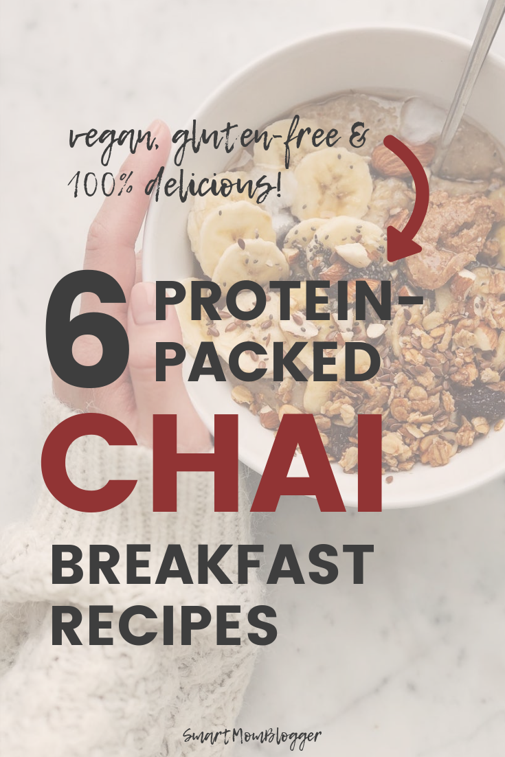 Looking for healthy and delicious high-protein breakfast recipes for Fall? Let's do Chai! Here are 6 of my favorite Fall chai recipes that are healthy, gluten-free, vegan, and packed with protein.