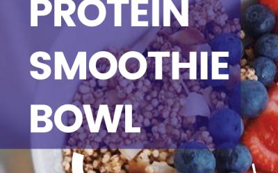 Vanilla Dragonfruit Protein Smoothie Bowl (Vegan, Gluten-Free, Dairy-Free)